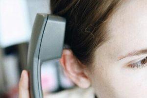 Understanding speech on the telephone